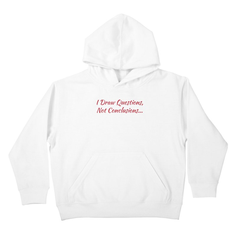 IDQNC-022 (Red) Kids Pullover Hoody by jeffjacques's Artist Shop