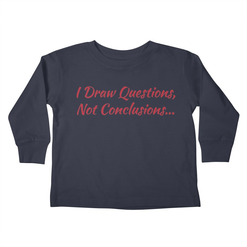 IDQNC-022 (Red) Kids Toddler Longsleeve T-Shirt by jeffjacques's Artist Shop