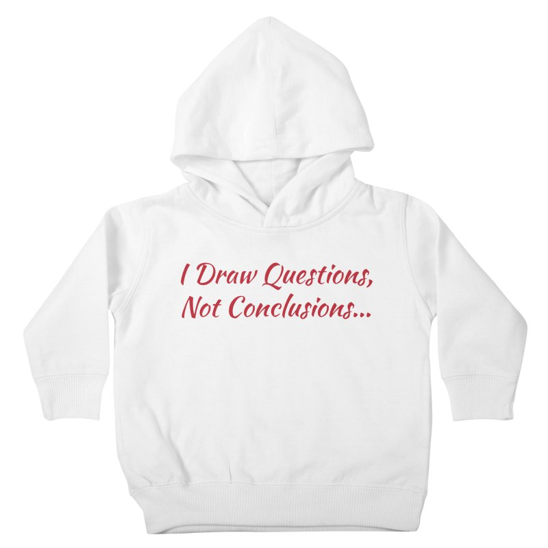 IDQNC-022 (Red) Kids Toddler Pullover Hoody by jeffjacques's Artist Shop