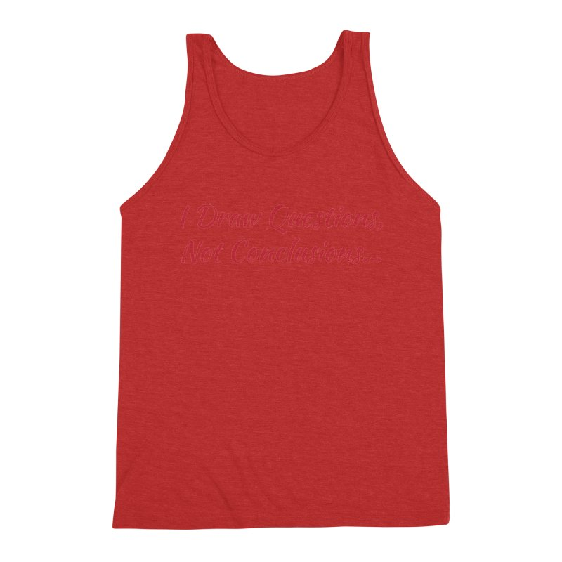 IDQNC-022 (Red) Men's Triblend Tank by jeffjacques's Artist Shop