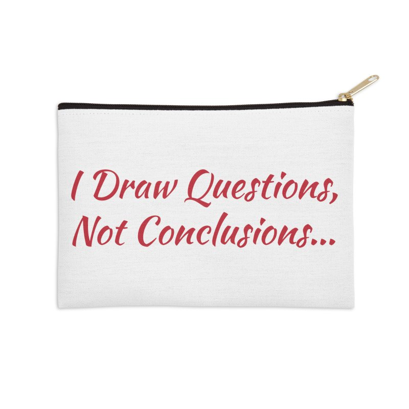 IDQNC-022 (Red) Accessories Zip Pouch by jeffjacques's Artist Shop
