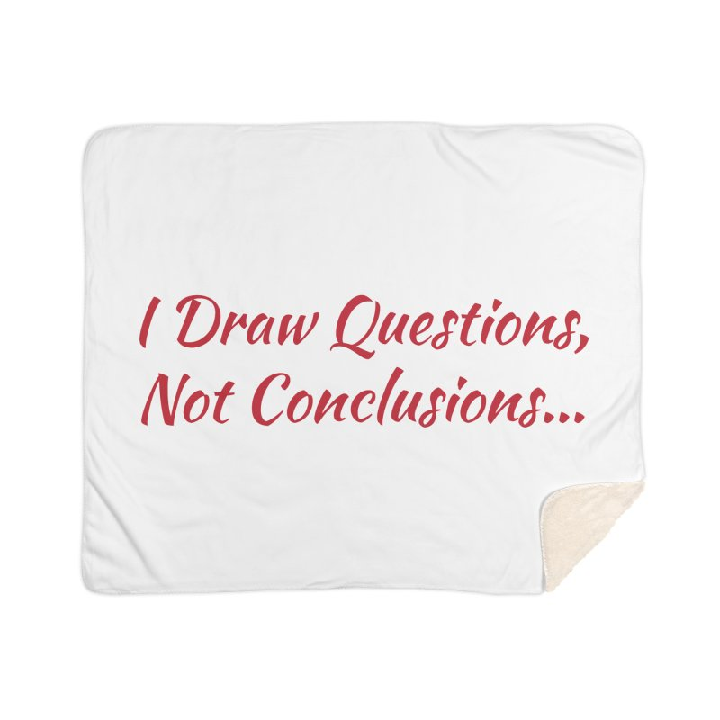 IDQNC-022 (Red) Home Sherpa Blanket Blanket by jeffjacques's Artist Shop