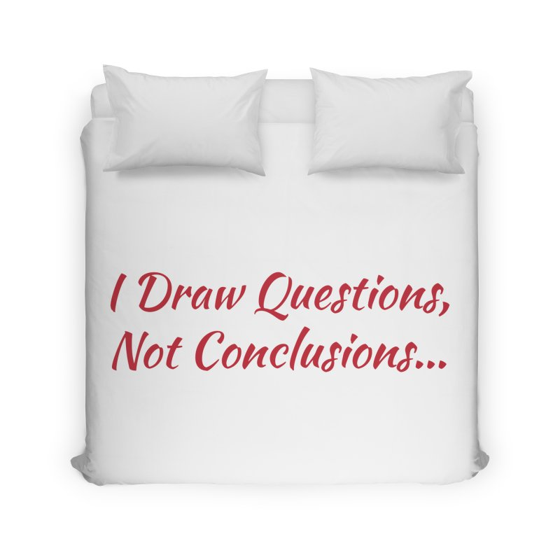 IDQNC-022 (Red) Home Duvet by jeffjacques's Artist Shop