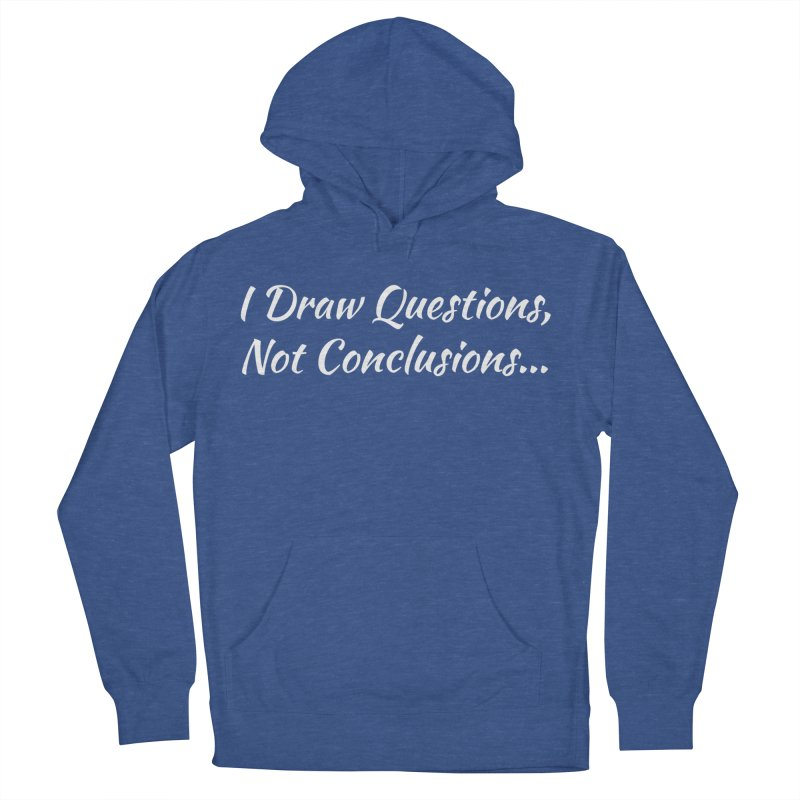 IDQNC-022 (White) Women's French Terry Pullover Hoody by jeffjacques's Artist Shop