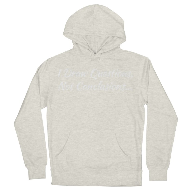 IDQNC-022 (White) Men's French Terry Pullover Hoody by jeffjacques's Artist Shop