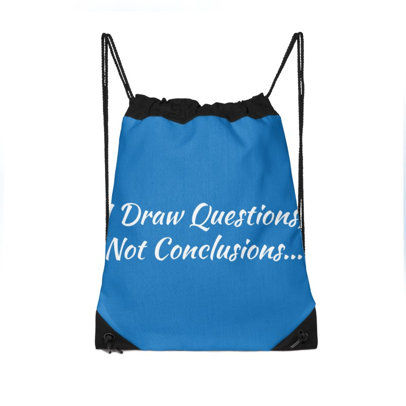 IDQNC-022 (White) Accessories Drawstring Bag Bag by jeffjacques's Artist Shop