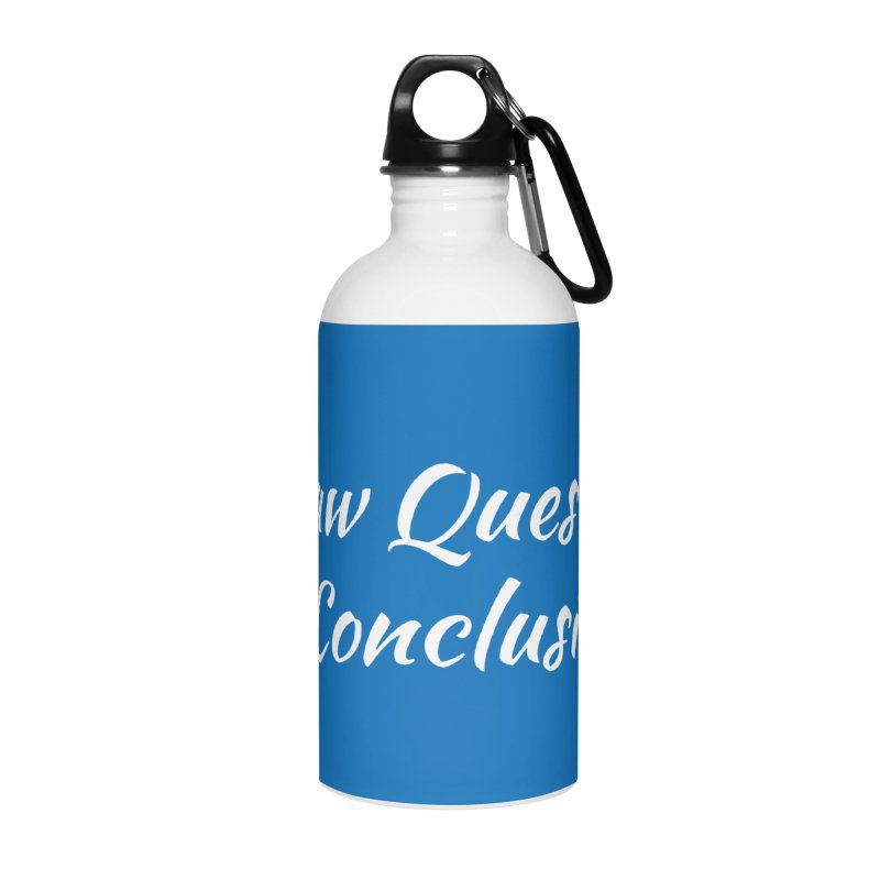 IDQNC-022 (White) Accessories Water Bottle by jeffjacques's Artist Shop