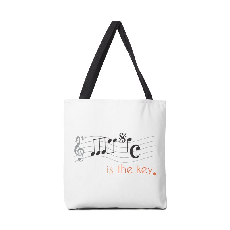Music is the Key Accessories Bag by jefo's Artist Shop