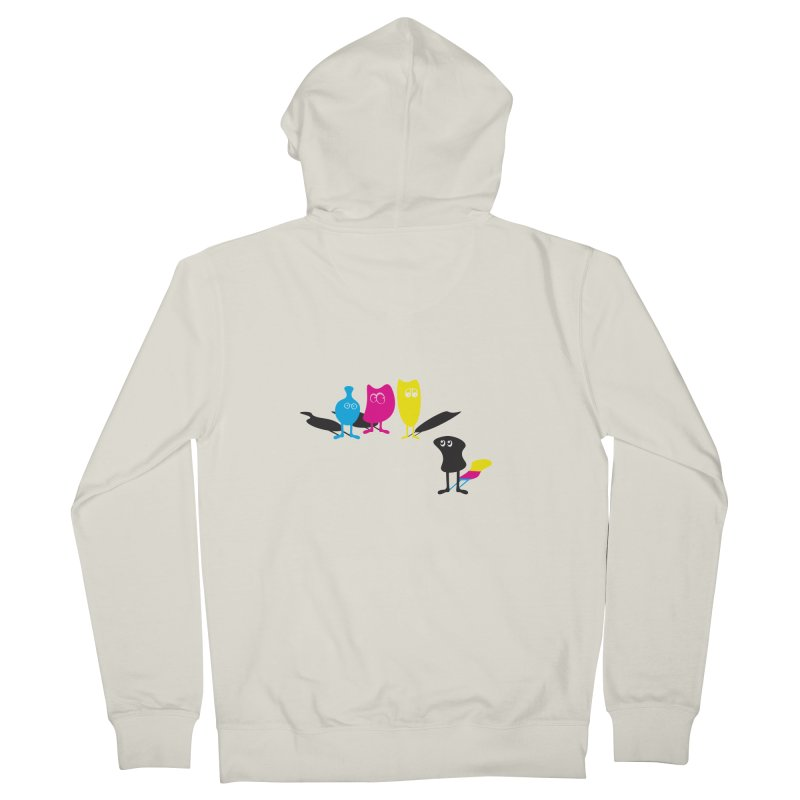 CMY...what? Women's Zip-Up Hoody by jefo's Artist Shop