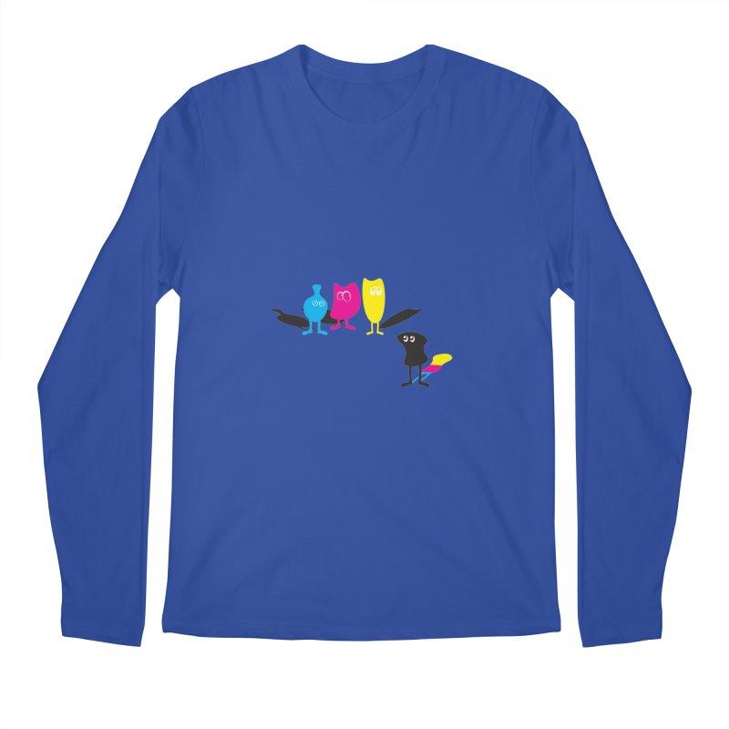 CMY...what? Men's Longsleeve T-Shirt by jefo's Artist Shop