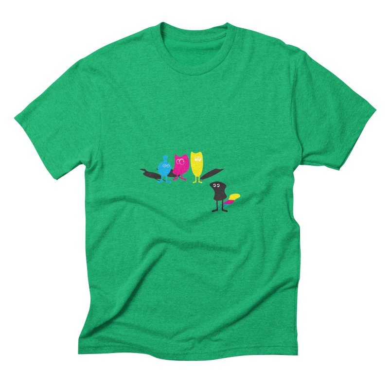 CMY...what? Men's Triblend T-Shirt by jefo's Artist Shop