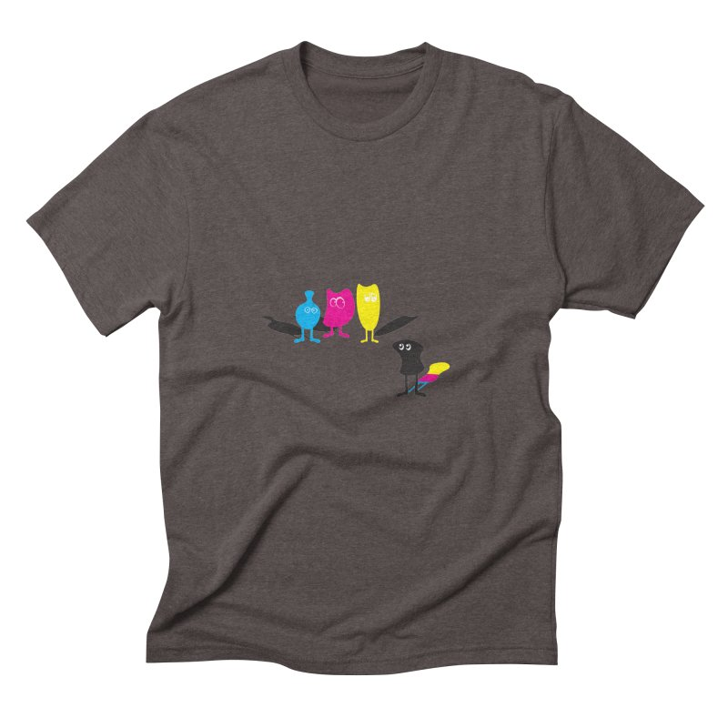 CMY...what? Men's Triblend T-shirt by jefo's Artist Shop