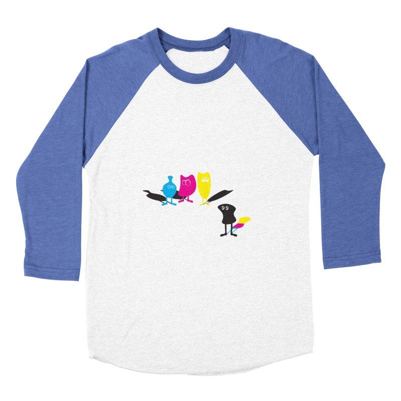 CMY...what? Women's Baseball Triblend T-Shirt by jefo's Artist Shop