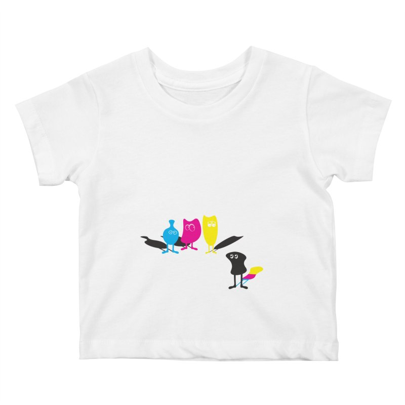 CMY...what? Kids Baby T-Shirt by jefo's Artist Shop