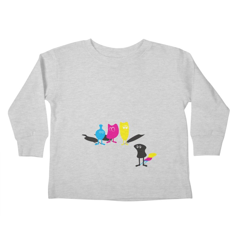 CMY...what? Kids Toddler Longsleeve T-Shirt by jefo's Artist Shop