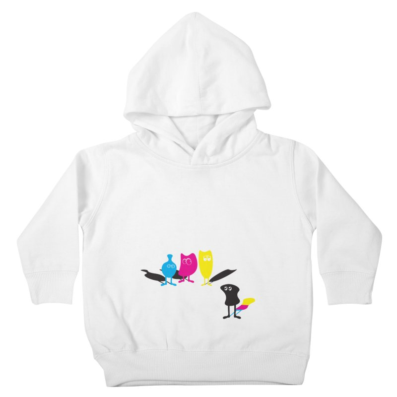 CMY...what? Kids Toddler Pullover Hoody by jefo's Artist Shop