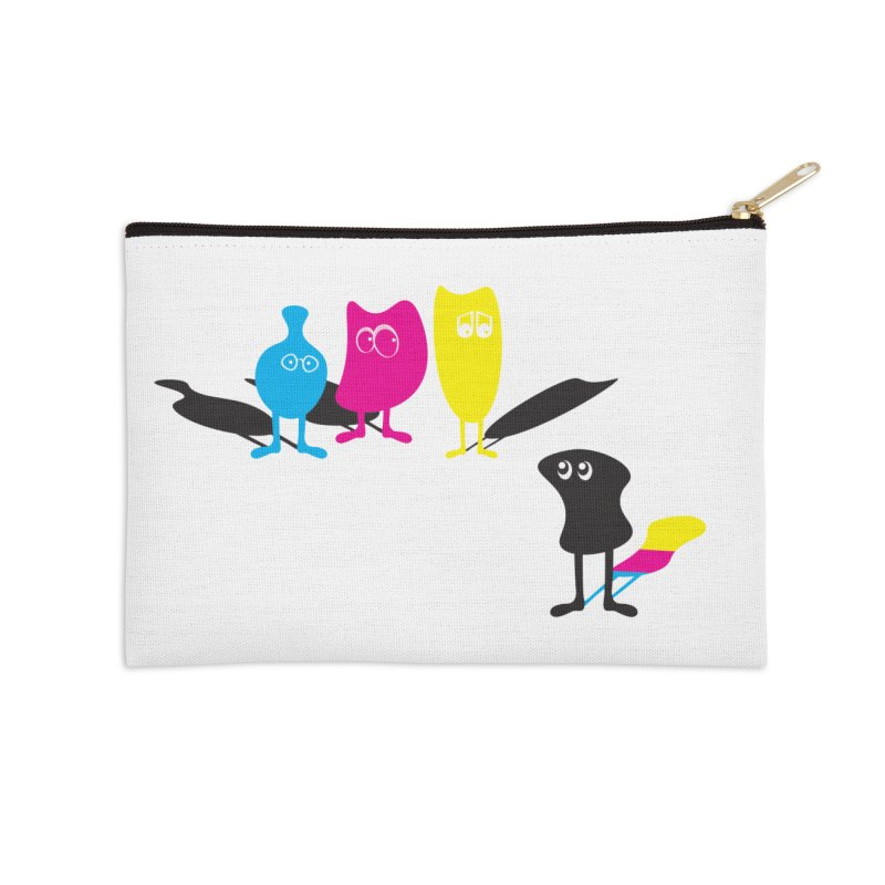 CMY...what? Accessories Zip Pouch by jefo's Artist Shop