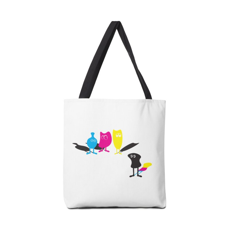 CMY...what? Accessories Bag by jefo's Artist Shop