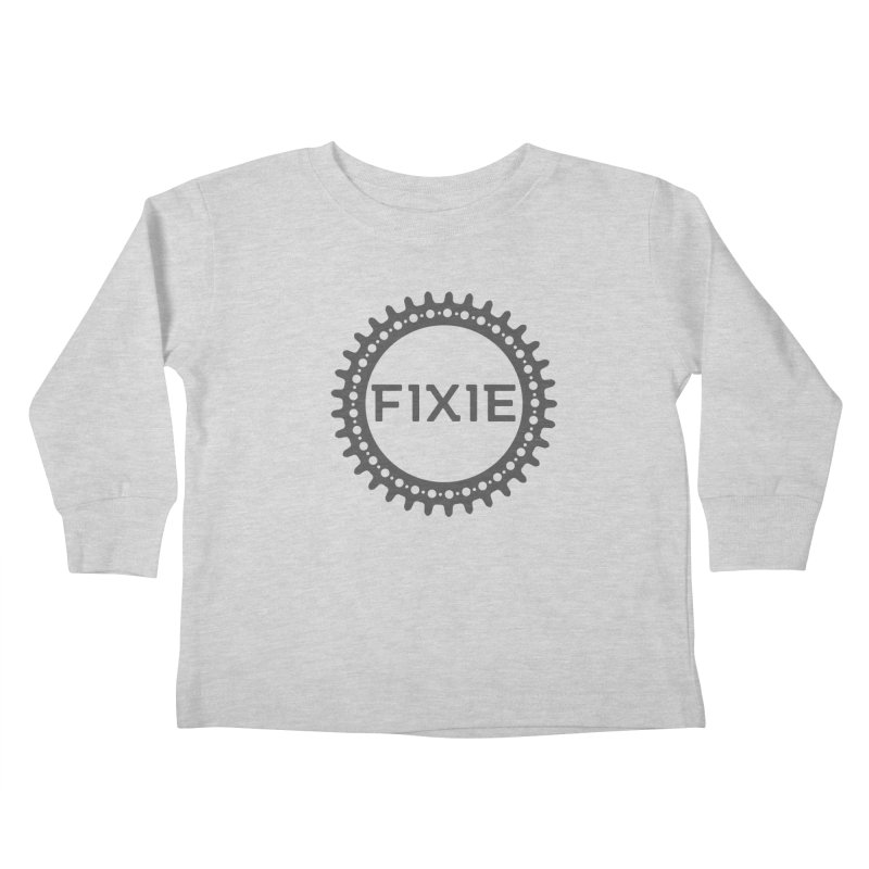 Fixie Kids Toddler Longsleeve T-Shirt by jefo's Artist Shop
