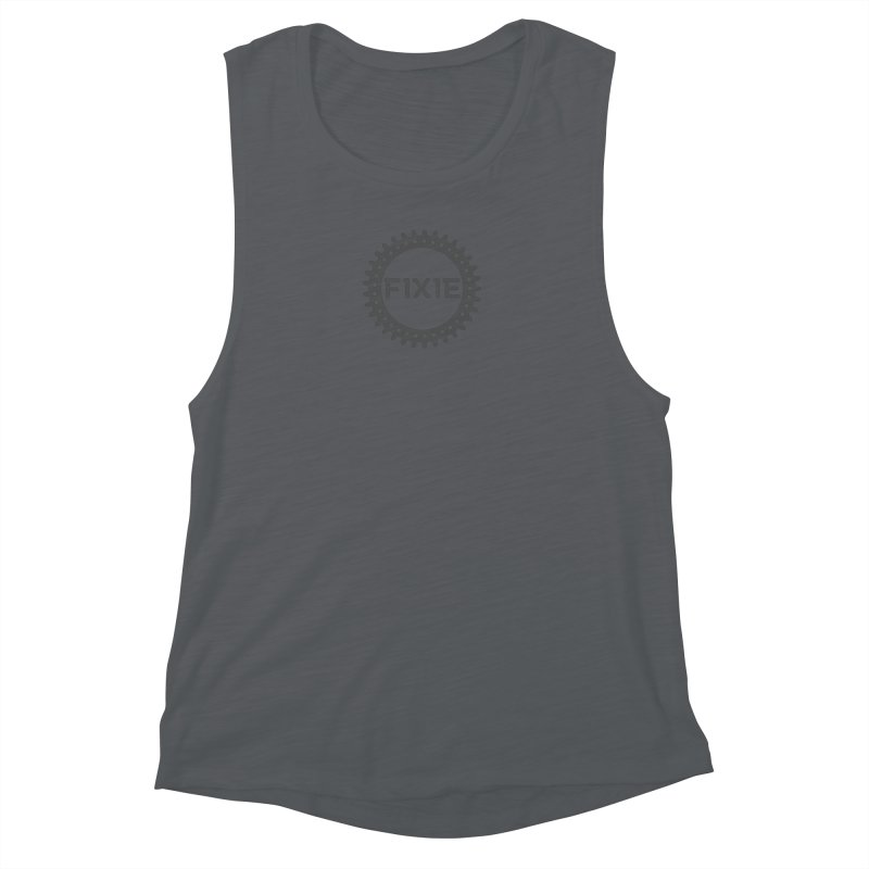 Fixie Women's Muscle Tank by jefo's Artist Shop