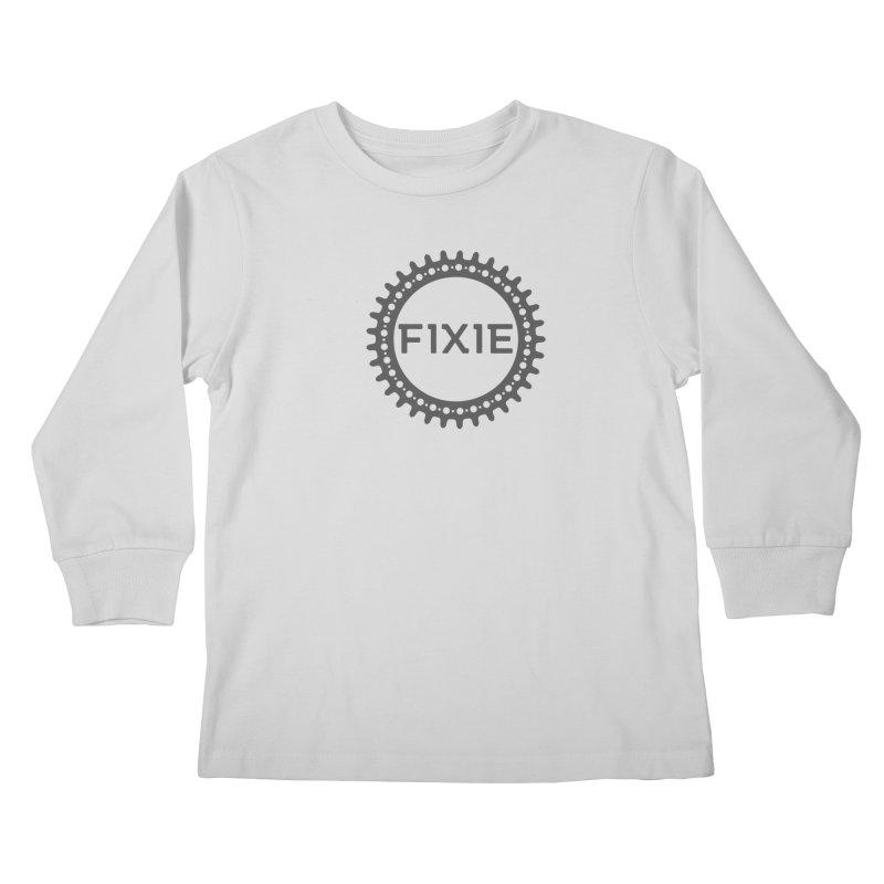 Fixie Kids Longsleeve T-Shirt by jefo's Artist Shop