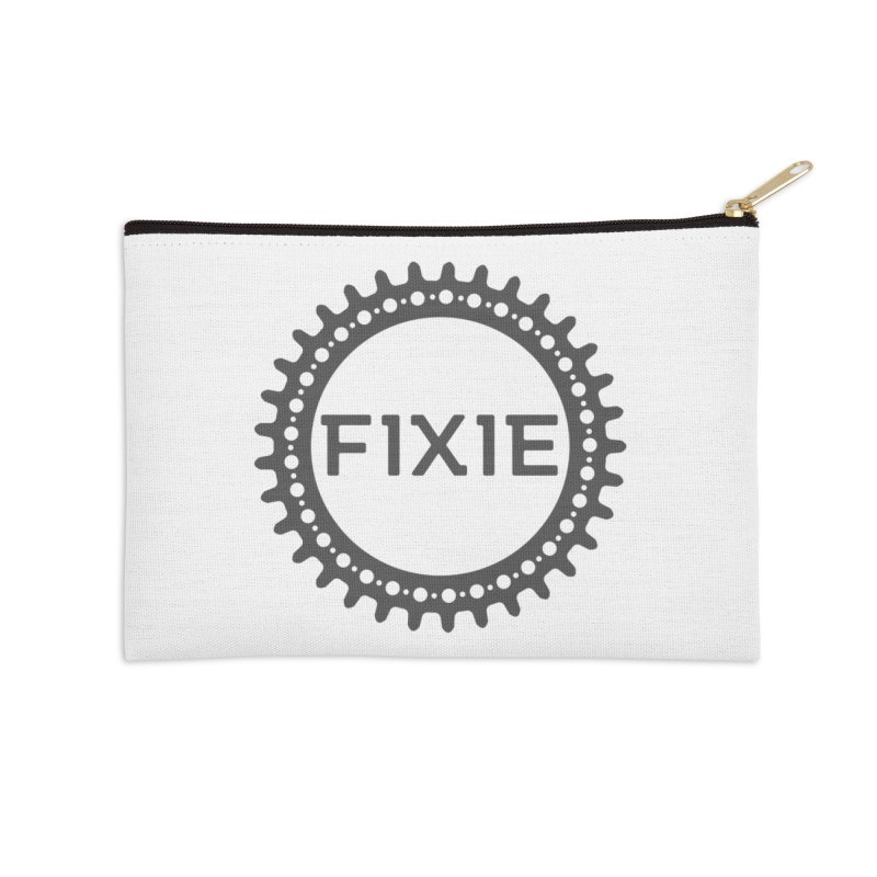 Fixie Accessories Zip Pouch by jefo's Artist Shop