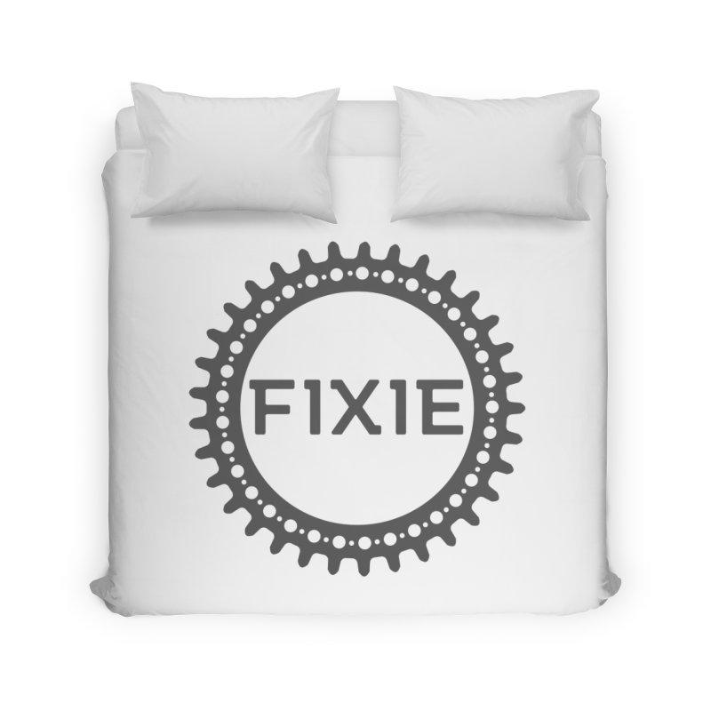 Fixie Home Duvet by jefo's Artist Shop