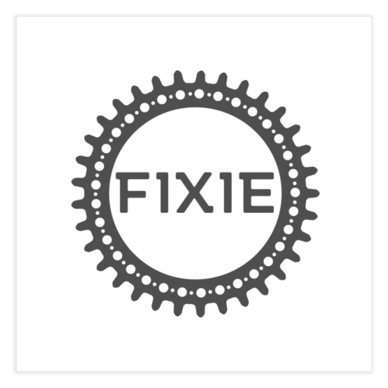 Fixie Home Fine Art Print by jefo's Artist Shop