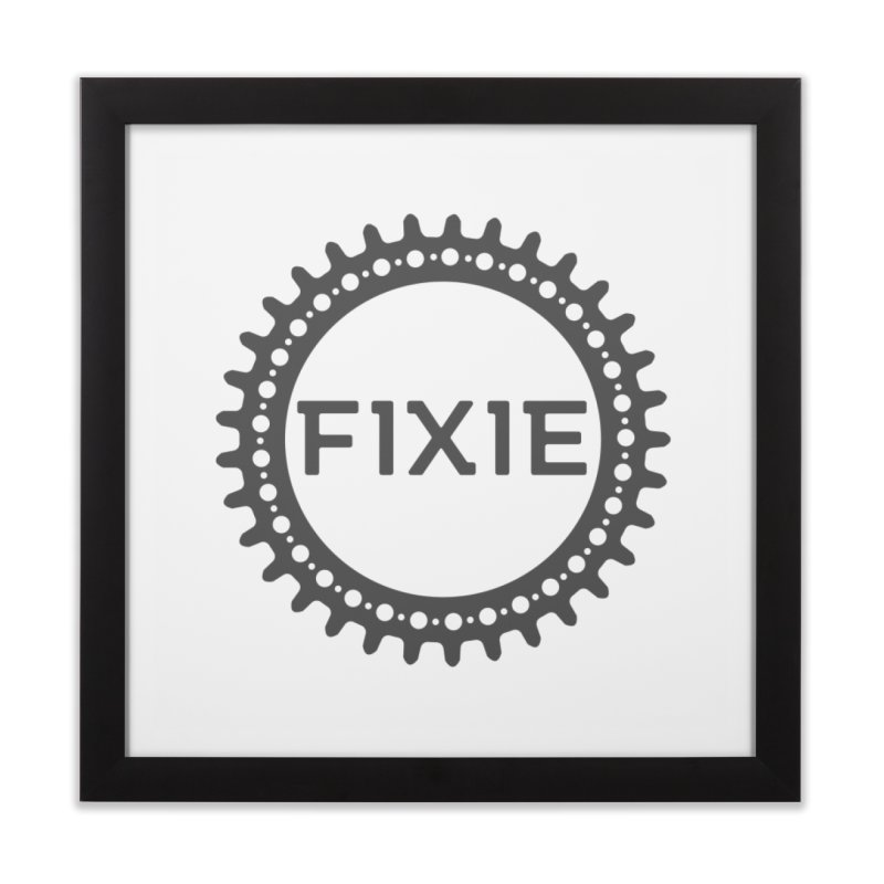 Fixie Home Framed Fine Art Print by jefo's Artist Shop