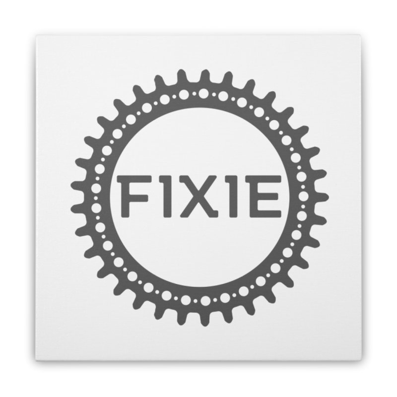 Fixie Home Stretched Canvas by jefo's Artist Shop