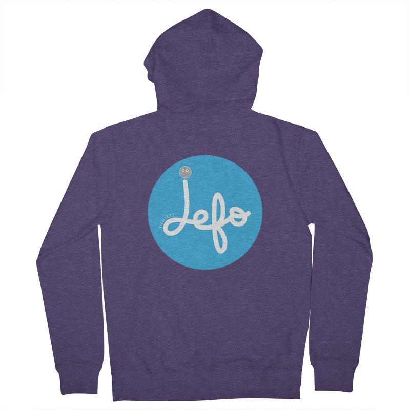 Jefo Men's Zip-Up Hoody by jefo's Artist Shop