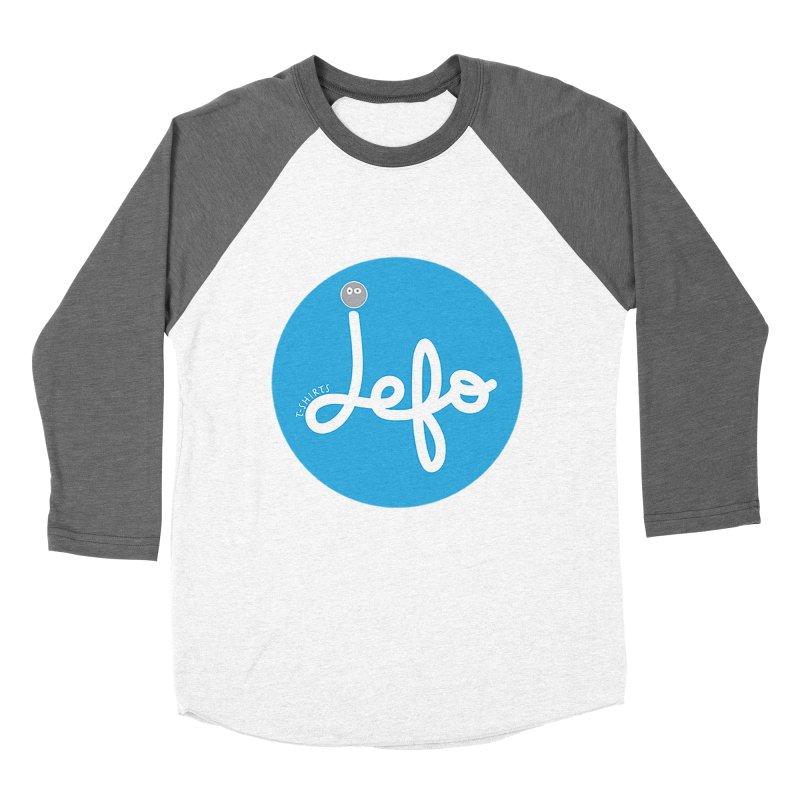 Jefo Men's Baseball Triblend T-Shirt by jefo's Artist Shop