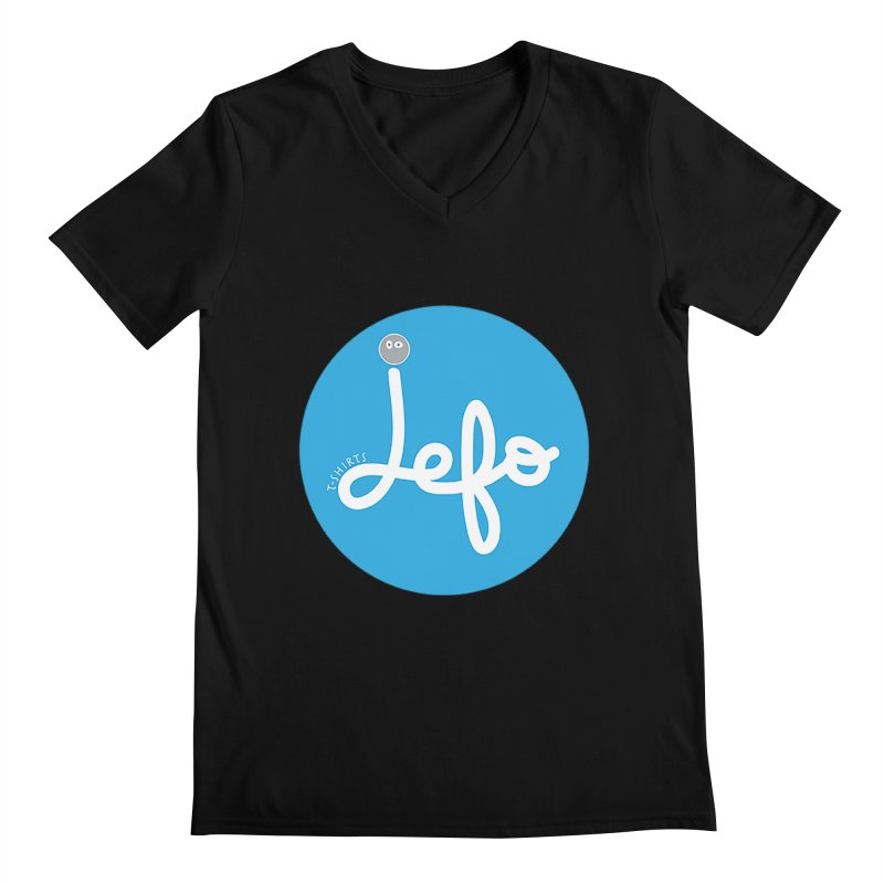 Jefo Men's V-Neck by jefo's Artist Shop