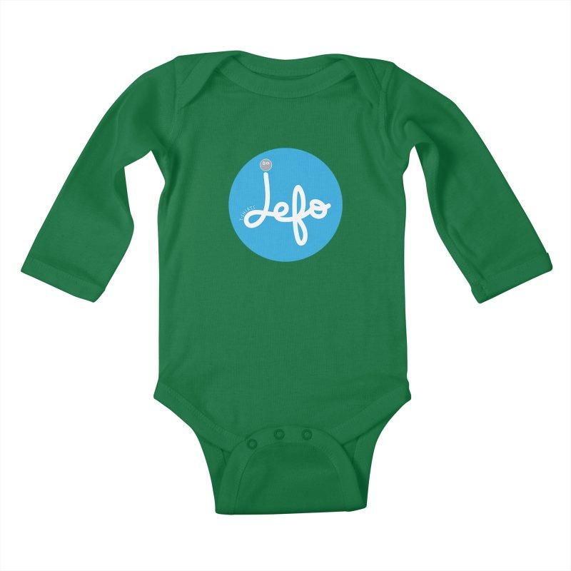 Jefo Kids Baby Longsleeve Bodysuit by jefo's Artist Shop