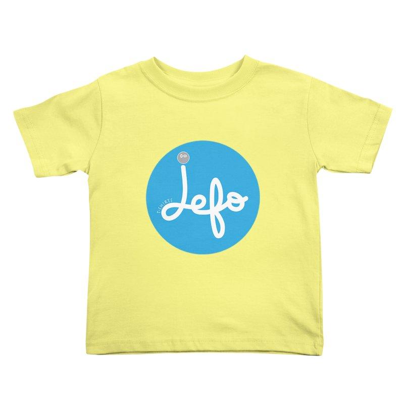 Jefo Kids Toddler T-Shirt by jefo's Artist Shop