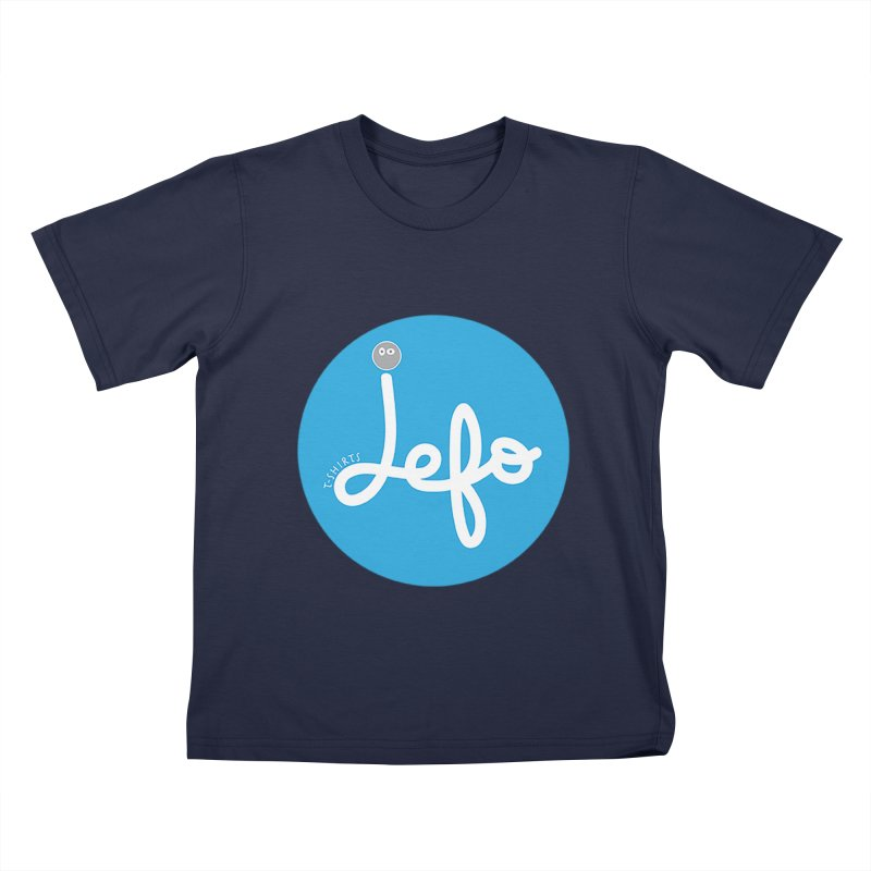 Jefo Kids T-shirt by jefo's Artist Shop