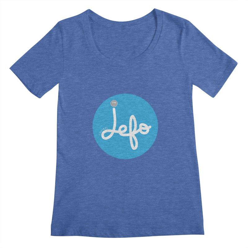 Jefo Women's Scoopneck by jefo's Artist Shop
