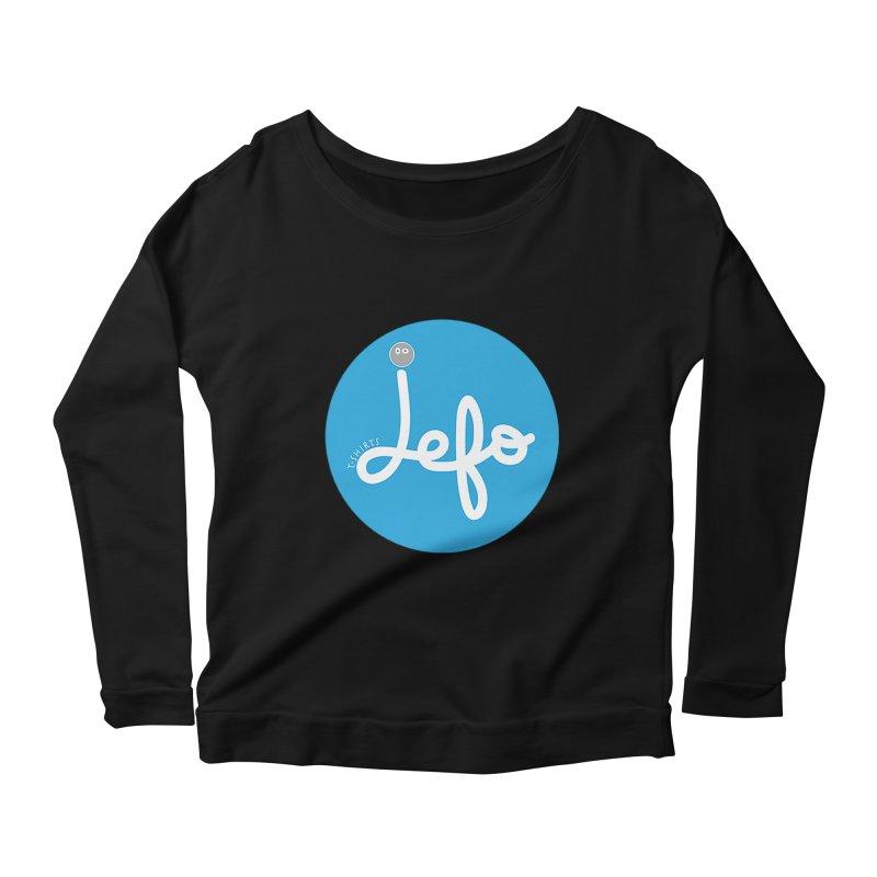 Jefo Women's Longsleeve Scoopneck  by jefo's Artist Shop