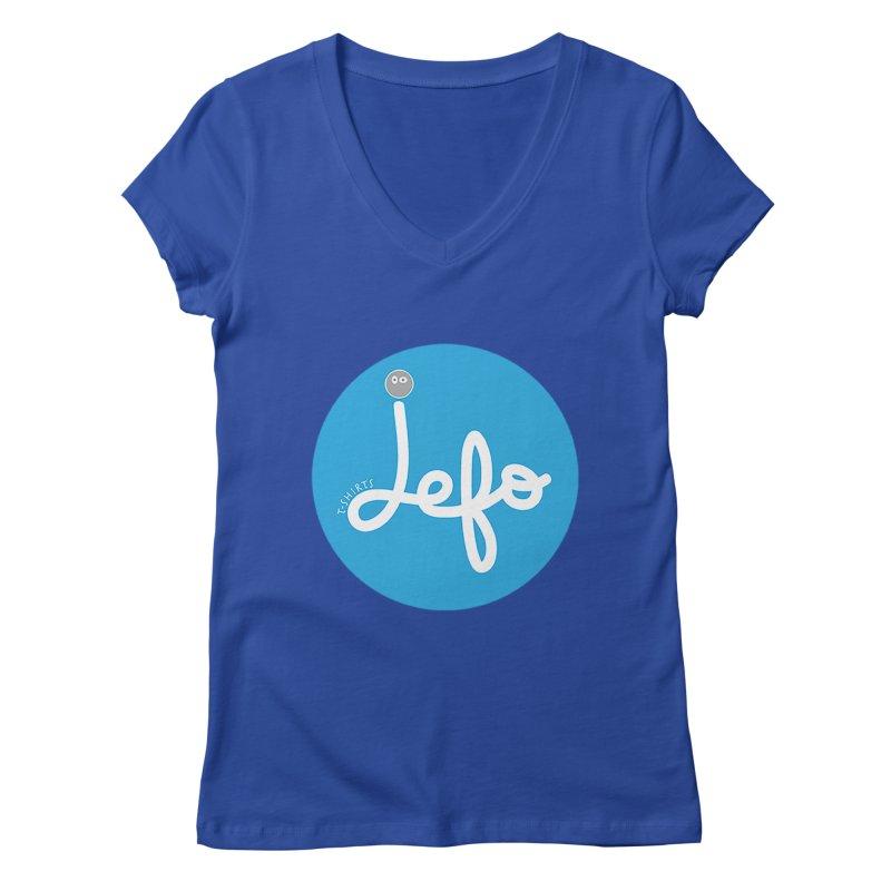 Jefo Women's V-Neck by jefo's Artist Shop