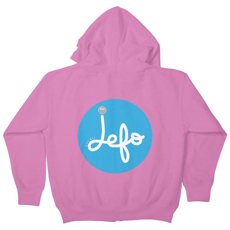 Jefo Kids Zip-Up Hoody by jefo's Artist Shop