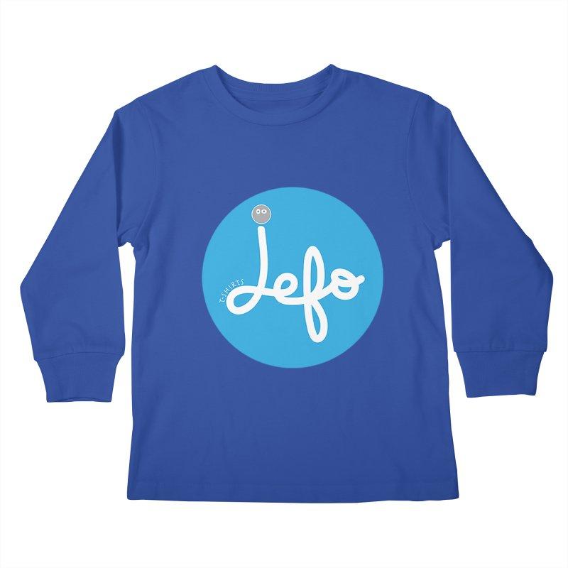 Jefo Kids Longsleeve T-Shirt by jefo's Artist Shop