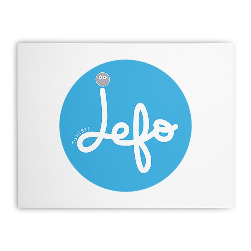 Jefo Home Stretched Canvas by jefo's Artist Shop