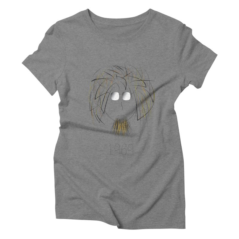 1969 Women's Triblend T-Shirt by jefo's Artist Shop