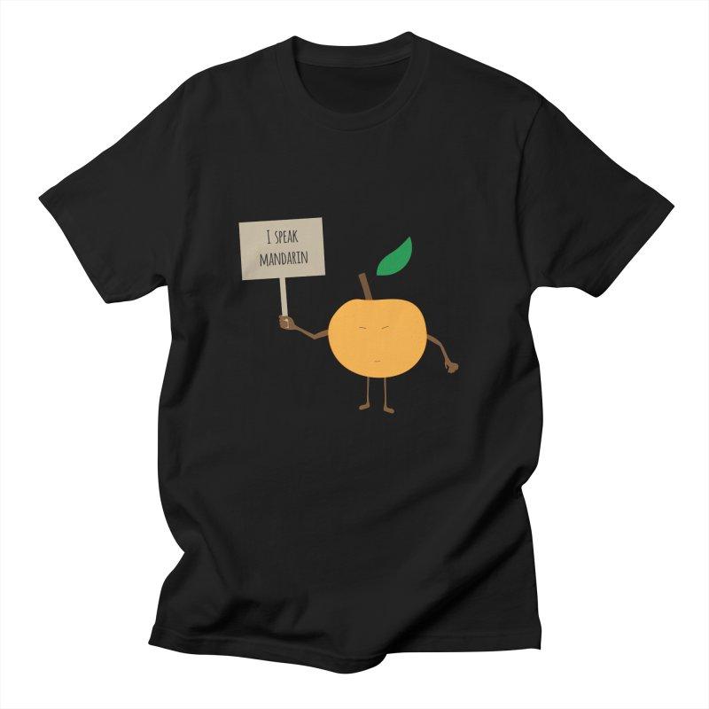 I Speak Mandarin Men's T-shirt by jefo's Artist Shop