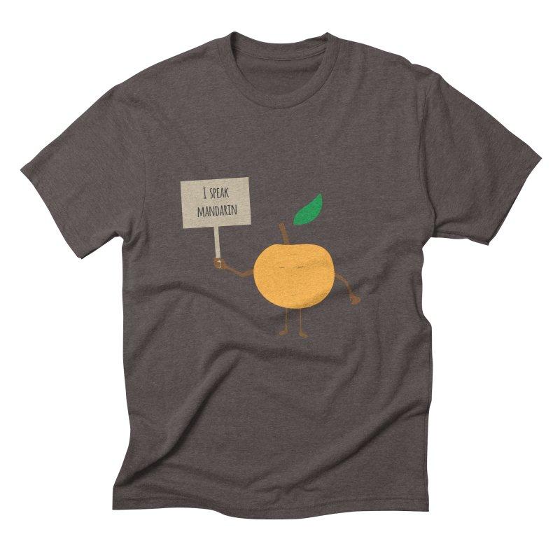 I Speak Mandarin Men's Triblend T-Shirt by jefo's Artist Shop