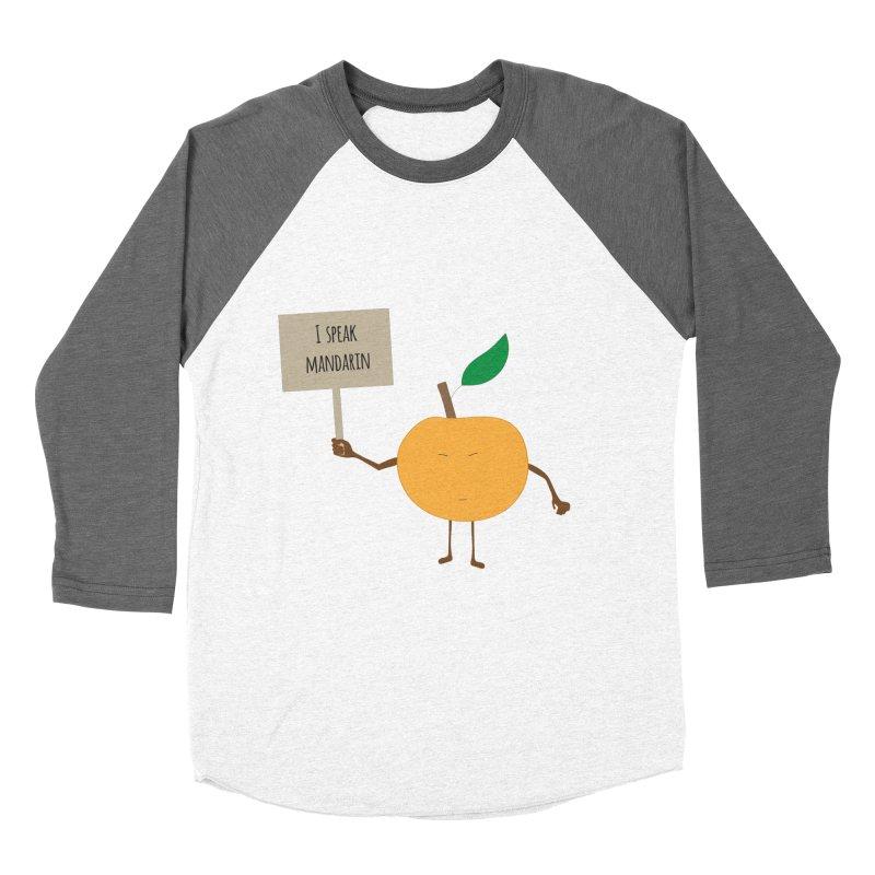 I Speak Mandarin Men's Baseball Triblend T-Shirt by jefo's Artist Shop