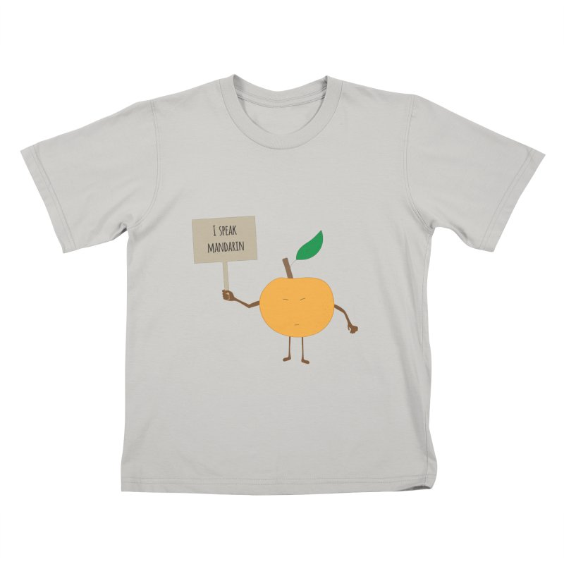 I Speak Mandarin Kids T-shirt by jefo's Artist Shop