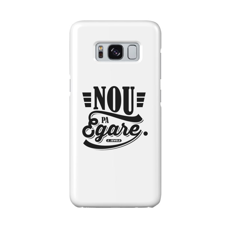 Nou Pa Egare ALL BLACK in Galaxy S8 Phone Case Slim by jeinetwork's Artist Shop