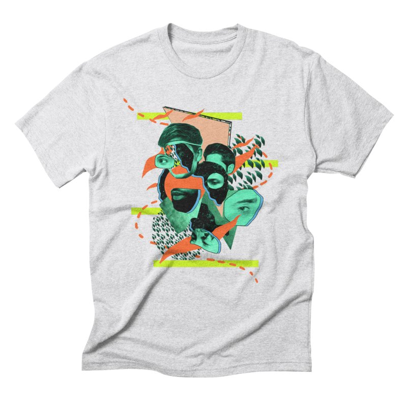 Curated Chaos  Men's Triblend T-Shirt by Jellineck