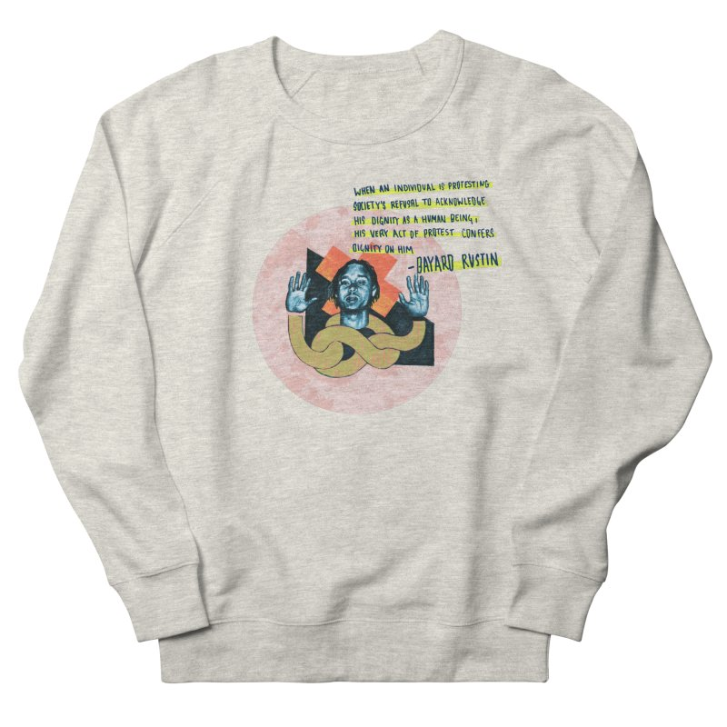 Dignity  Women's French Terry Sweatshirt by Jellineck